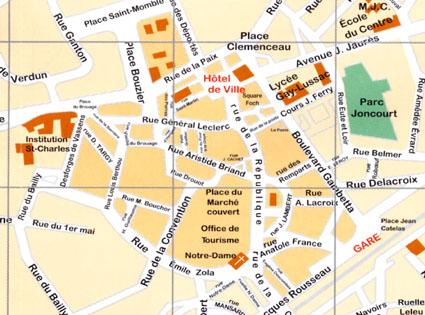 Plan De La Ville De Laval