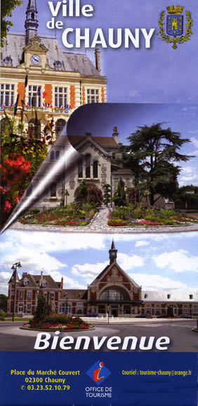 Office de tourisme de chauny plan de la ville - Orange office de tourisme ...